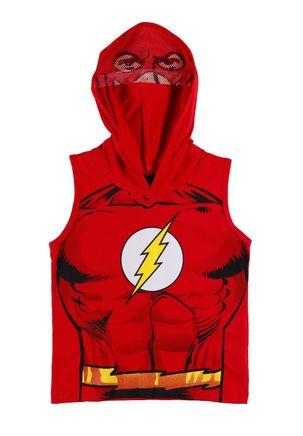 Camiseta-Regata-Justice-League-Infantil-Para-Menino---Vermelho-6