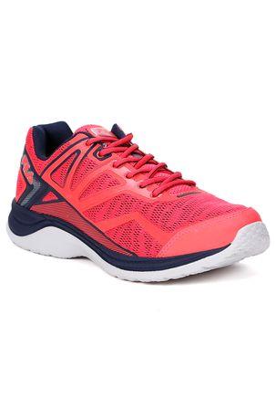 Tenis-Esportivo-Feminino-Fila-Rosa-marinho-prata
