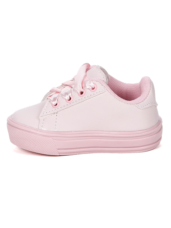 6debd908425 Tênis Infantil Para Bebê Menina - Rosa - Lojas Pompeia