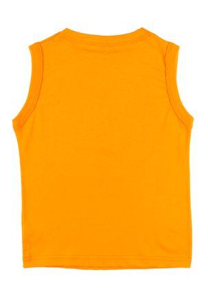 Camiseta-Regata-Infantil-Para-Menino---Laranja-6