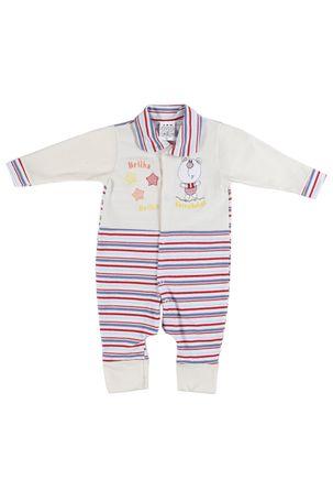 Macacao-Infantil-Para-Bebe-Menina---Bege-vermelho-P