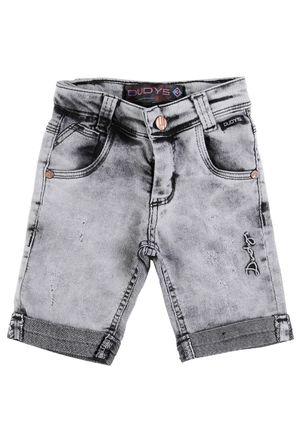 Bermuda-Jeans-Infantil-Para-Menino---Cinza-1