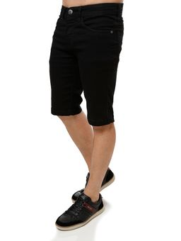 Bermuda-Jeans-Masculina-Vels-Preto-