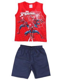 Conjunto-Spider-Man-Infantil-Para-Menino---Vermelho-azul-marinho-1