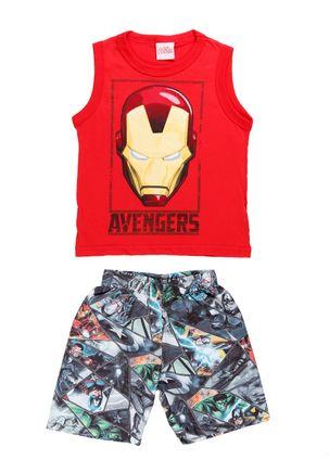 Conjunto-Avengers-Infantil-Para-Menino---Vermelho-6