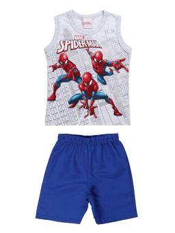 Conjunto-Spider-Man-Infantil-Para-Menino---Cinza-azul-1