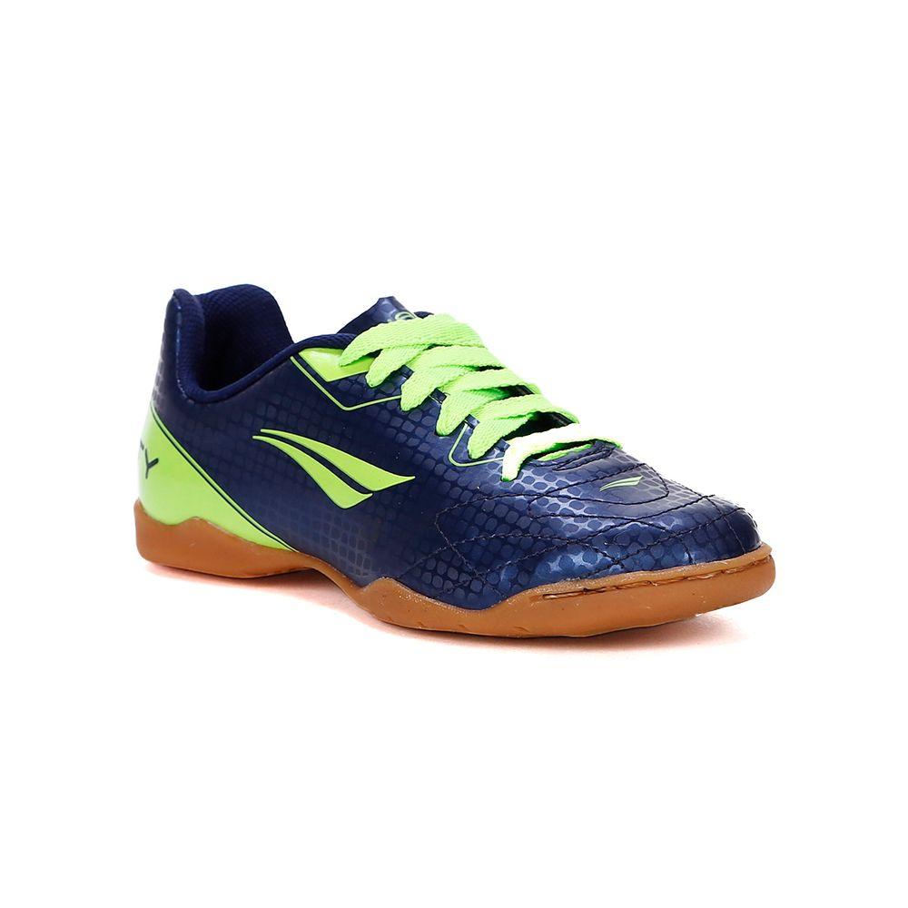 Tênis Futsal Penalty Soccer Matis VII Infantil para Menino - Azul ... 39c6807991cdb