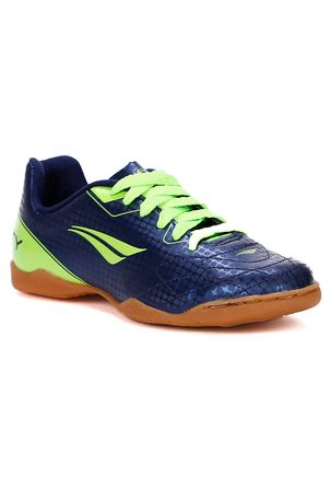 Tenis-Futsal-Penalty-Infantil-Para-Menino---Azul-verde-30