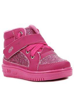 Tenis-Cano-Alto-Infantil-Para-Bebe-Menina---Rosa-Pink-20