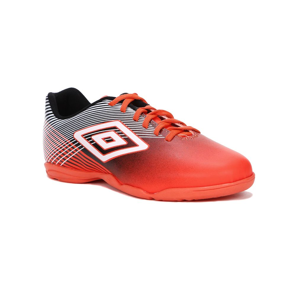 Tênis Futsal Masculino Umbro Slice Indoor III Coral preto branco - Lojas  Pompeia 34e3b891659f0