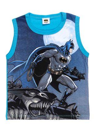 Camiseta-Regata-Batman-Infantil-Para-Menino---Azul-1