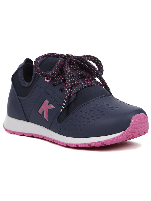 133079c607 Tênis Kidy Infantil Para Menina - Azul Marinho - Lojas Pompeia