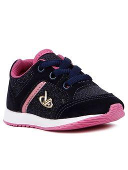 Tenis-Infantil-Para-Bebe-Menina---Azul-Marinho