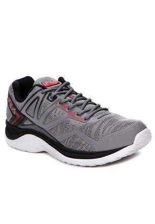 Tenis-Esportivo-Adulto-Masculino-Fila-Cinza-preto-vermelho-38