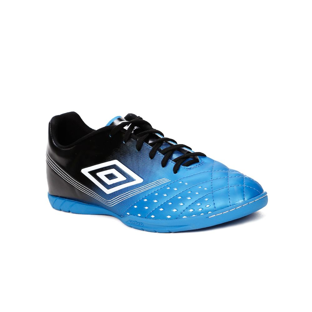 Tênis Futsal Masculino Umbro Fifty Indoor Azul preto - Lojas Pompeia c70c2a4819db8