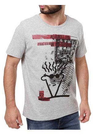 Camiseta-Manga-Curta-Masculina-Fido-Dido-Cinza
