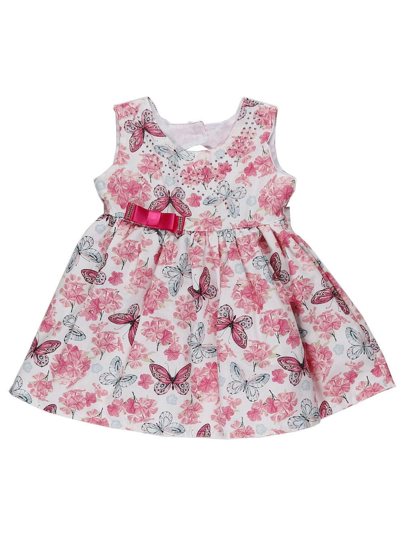 58213510e72b Vestido Infantil para Bebê Menina - Rosa - Lojas Pompeia