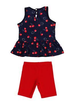 Conjunto-Infantil-Para-Menina---Azul-marinho-vermelho-