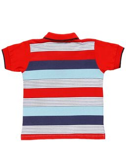 Polo-Manga-Curta-Infantil-Para-Menino---Vermelho-1