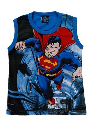 Camiseta-Regata-Superman-Infantil-Para-Menino