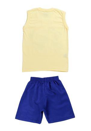 Conjunto-Infantil-Para-Bebe-Menino---Amarelo-azul-1