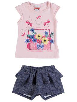 Conjunto-Infantil-Para-Bebe-Menina---Rosa-P