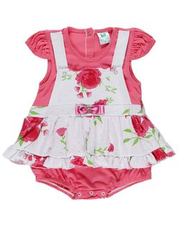 Macacao-Infantil-Para-Bebe-Menina---Rosa-branco-P