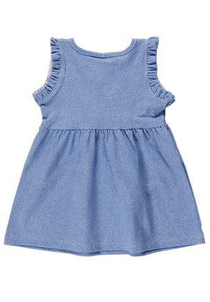 Vestido-Infantil-Para-Bebe-Menina---Azul-P