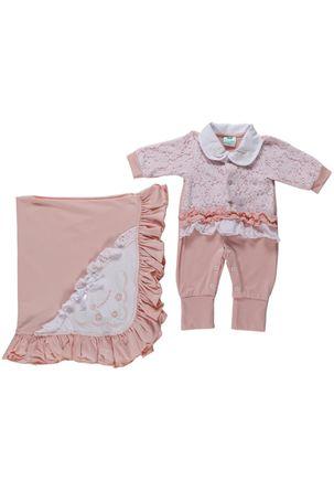 Enxoval-Para-Infantil-Para-Bebe-Menina---Salmao-P