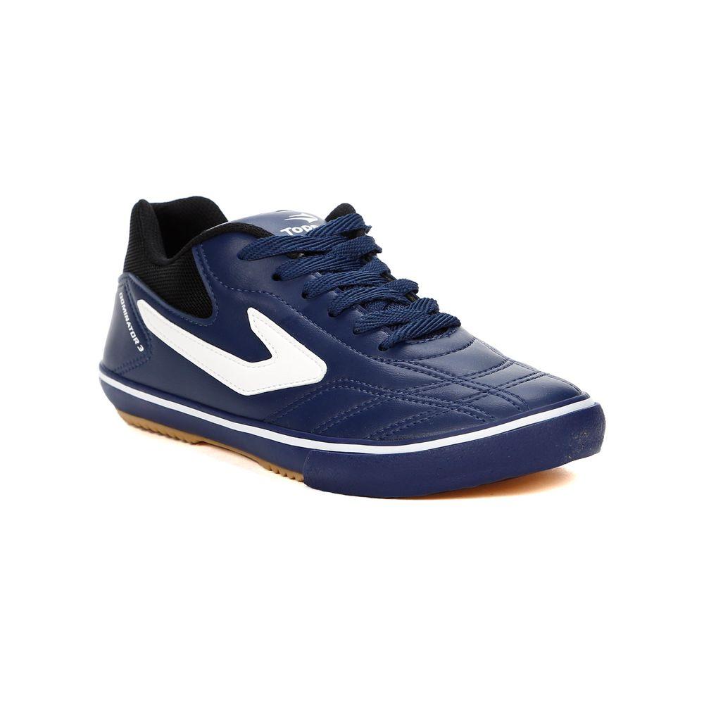 ... factory price f03d0 da4fc Tenis-Futsal-Masculino-Topper-Dominator-Iii-  ... 8040c1af375dd