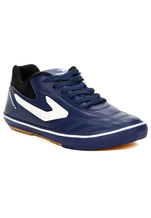 Tenis-Futsal-Masculino-Topper-Dominator-Iii-Azul-Marinho-preto-branco-37
