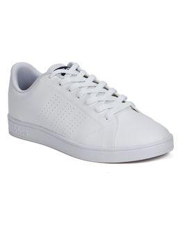 Tenis-Casual-Masculino-Adidas-Advantage-Clean-Branco-azul-Marinho