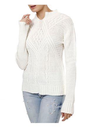 Blusa-Tricot-Feminino-Autentique-Off-White