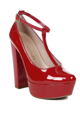 Sapato-de-Salto-Feminino-Crysalis-Vermelho-34