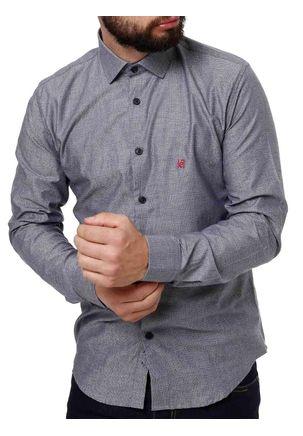 Camisa-Manga-Longa-Masculina-Eletron-Cinza