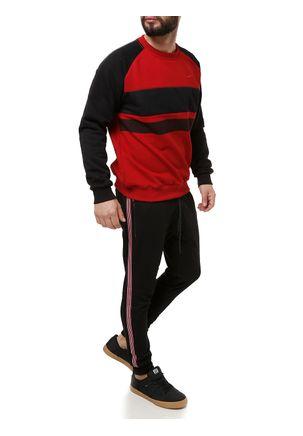 Moletom-Fechado-Masculino-Federal-Art-Vermelho-preto