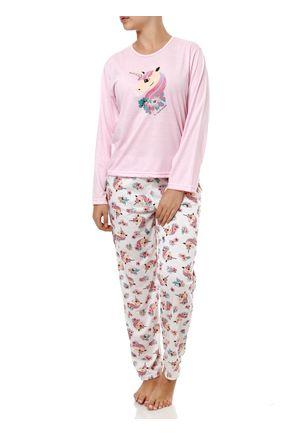Pijama-Longo-Feminino-Off-White-rosa