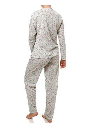 Pijama-Longo-Feminino-Verde-Rosa