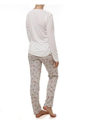 Pijama-Longo-Feminino-Off-White-cinza
