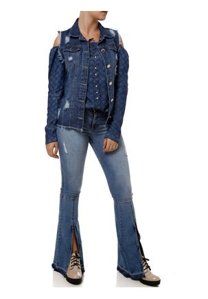 Blusa-Jeans-Manga-Longa-Feminina-Azul