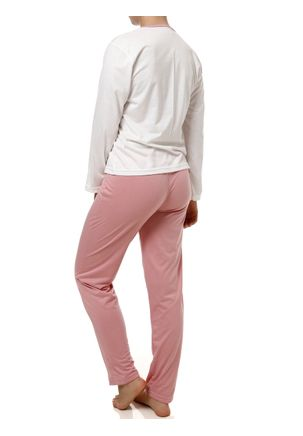 Pijama-Longo-Feminino-Off-White-rosa-P