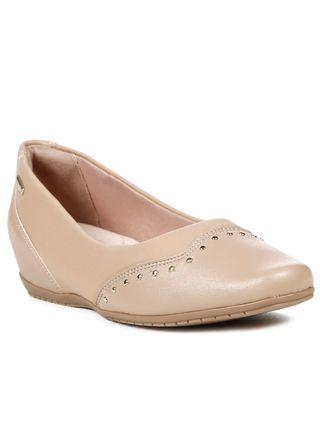 Sapato-Anabela-Feminino-Comfortflex-Bege