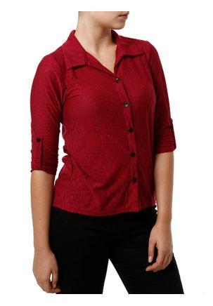 Camisa-Manga-3-4-Feminina-Autentique-Preto-rosa