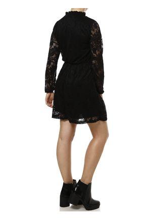 Vestido-Medio-Feminino-Autentique-Preto