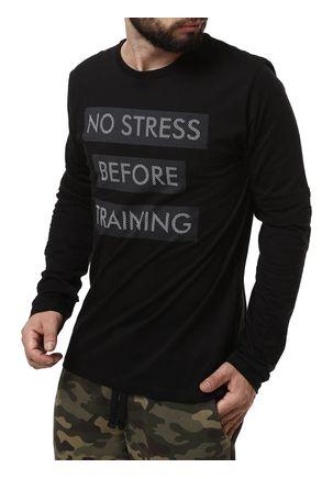 Camiseta-Manga-Longa-Masculina-No-Stress-Preto