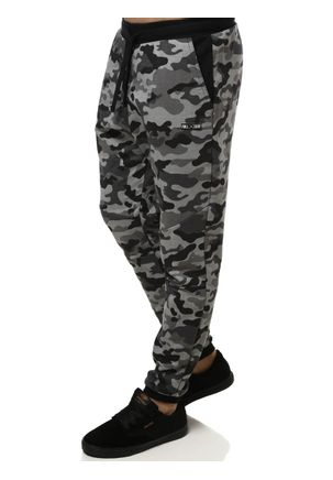 Calca-de-Tecido-Masculina-Camuflada-Cinza