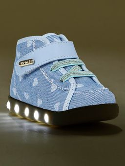 Tenis-Cano-Alto-Infantil-Para-Bebe-Menina---Azul-21