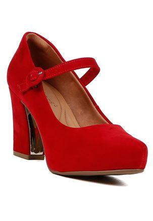 Sapato-Para-Mulher-Feminino-Bebece-Vermelho-34