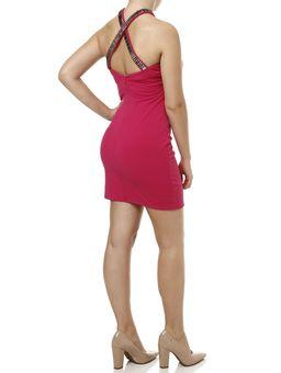 Vestido-Curto-Feminino-Autentique-Rosa-M