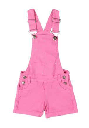 Macacao-Jeans-Infantil-Para-Menina---Rosa-6